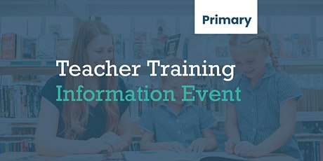 Teacher Training Information Event (Primary) tickets