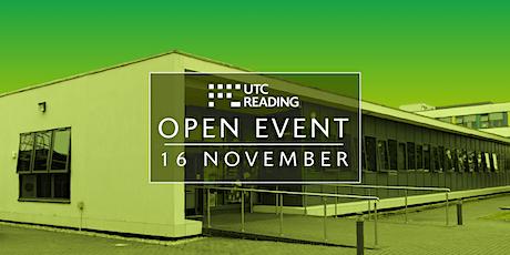 UTC Reading Open Evening  - Tuesday 16 November 2021 tickets
