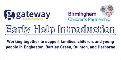 Supporting Families - Early Help Intro for Edgbaston Locality professionals tickets