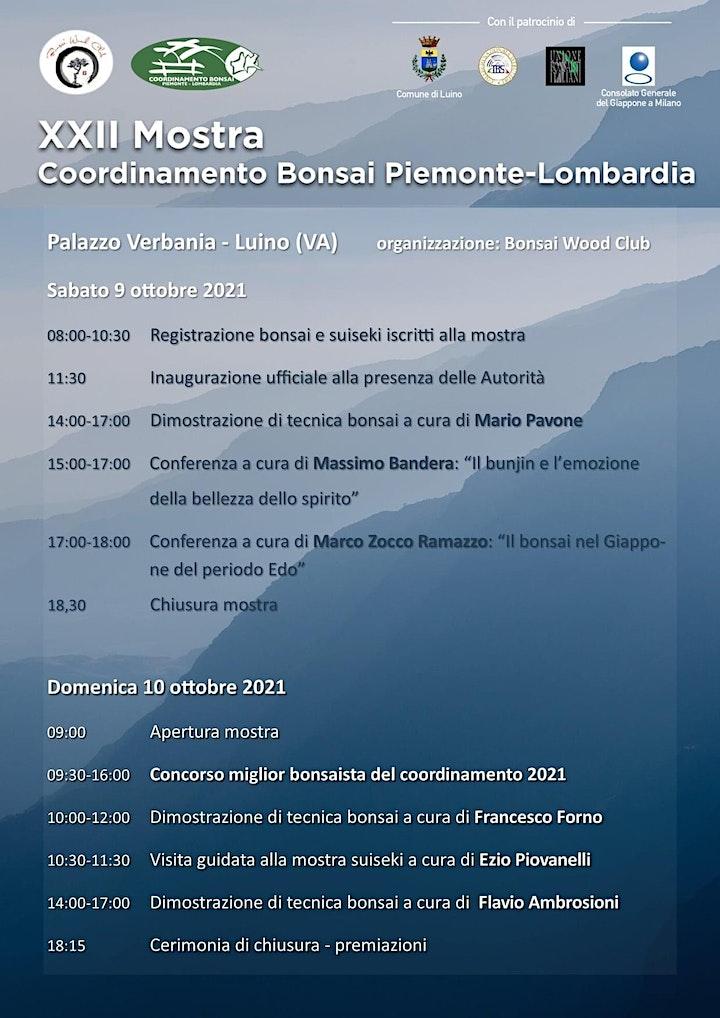 Immagine XXII Mostra Coordinamento Bonsai Piemonte - Lombardia