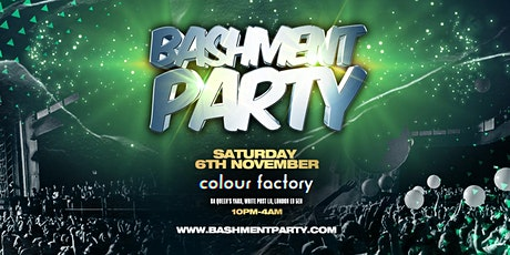 Bashment Party - Anniversary! tickets