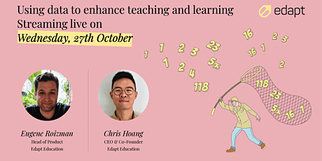 Using Data to Enhance Teaching and Learning tickets