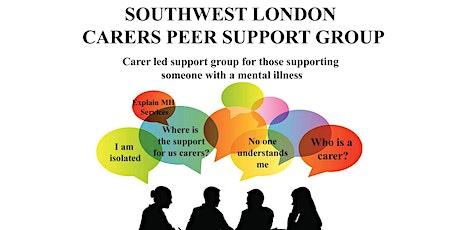 Southwest London Mental health carer's peer support group tickets