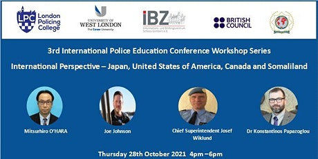 International Perspective – Japan, USA, Canada and Somaliland. tickets