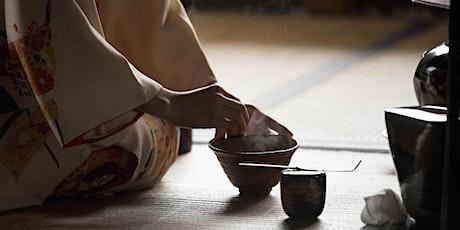 Dimostrazione di chanoyu, cerimonia del tè giapponese biglietti