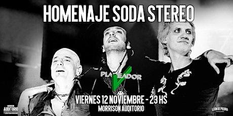 Planeador V - Homenaje Soda Stereo entradas