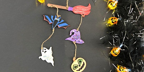 Decorate a Spooktakular Halloween Hanging Decoration tickets