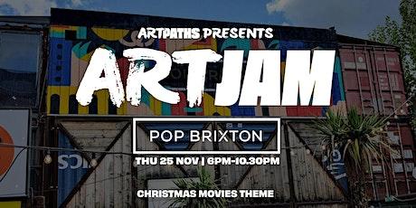 Art Jam at Pop Brixton [CHRISTMAS MOVIES] tickets