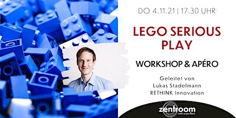 Lego Serious Play - Workshop mit Lukas Stadelmann & Apéro tickets