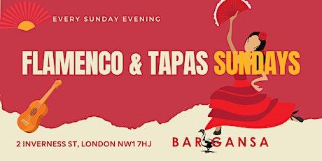Flamenco & Tapas Sundays at Bar Gansa tickets