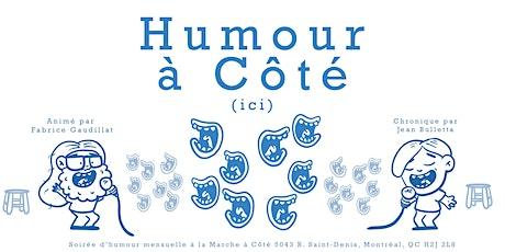 Humour à Côté tickets