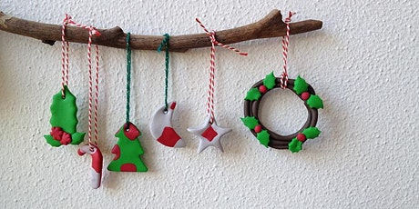 Polymer Clay - Creating for Christmas tickets