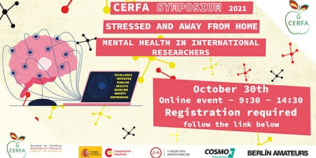 CERFA Symposium  2021. Stressed and Away from Home tickets