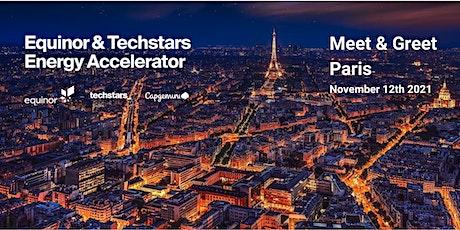 Equinor & Techstars Energy Accelerator Meet & Greet, Paris billets