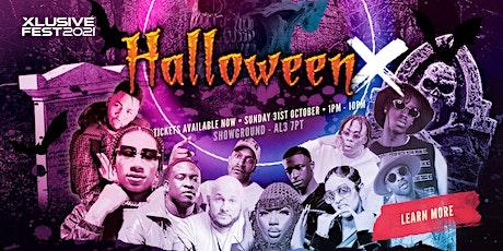 Halloween X Festival - Digga D, Ms Banks, Unknown T, Hardy Carpio, Chunkz + tickets