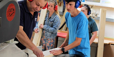 Carpentry Skills Camps for student in Year 7 or 8 tickets