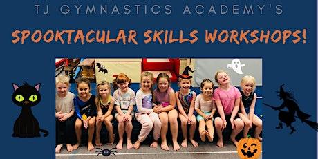 TJ Gymnastics Half Term Skills Workshops! tickets