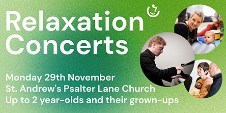 Relaxation Concerts: 11.30am, 29th November | Tim Horton (piano) tickets