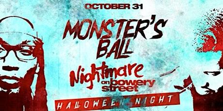 Halloween Nightmare on Bowery street  @ Katra tickets