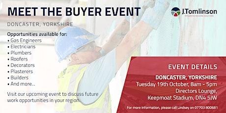 J Tomlinson Ltd Meet the Buyer drop-in event, Doncaster tickets