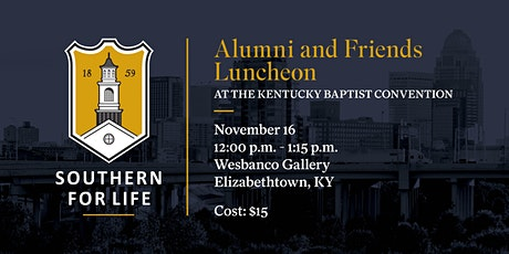 SBTS Alumni & Friends Luncheon at the Kentucky Baptist Convention tickets