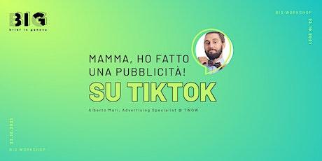 Mamma, ho fatto una pubblicità! Su TikTok billets