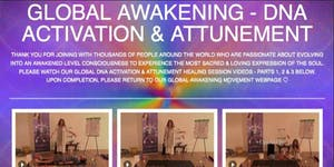 Global DNA Activation & Attunement Video - Embrace the...