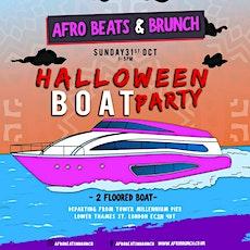 Afrobeats N Brunch: Halloween Boat Party tickets