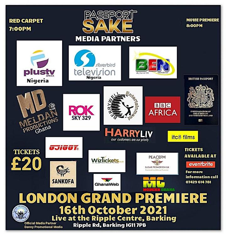 Passport Sake London Film Premiere. Oct.16th live at Ripple Centre, Barking image