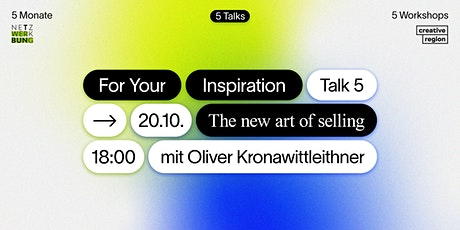 Talk: The New Art of Selling tickets