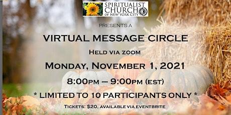 SCNYC Virtual Message Circle  -  Revs. Eugene Grygo & Deborah Shield tickets