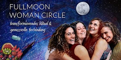 FULLMOON WOMAN CIRCLE : Transformierendes Ritual & genussvolle Verbindung Tickets