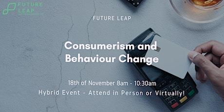Consumerism and Behaviour Change tickets