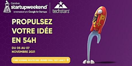 Techstars Startup Weekend Geneva  2021 tickets