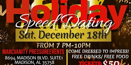 Holiday Speed Dating Event! tickets