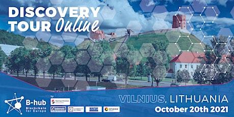 Blockchain Discovery Tour: Vilnius tickets