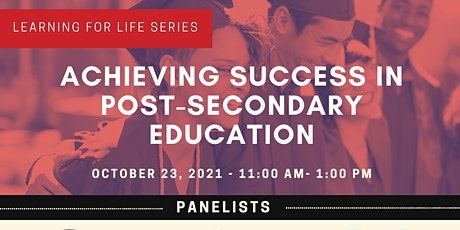 Achieving Success in Post Secondary Education tickets