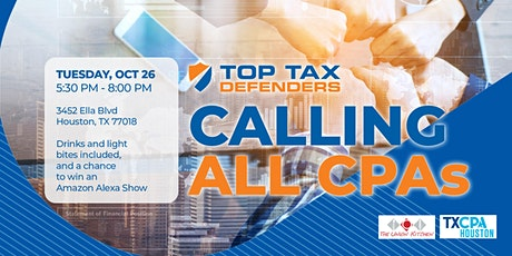 CPAs Monthly Networking - Top Tax Defenders tickets