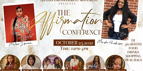 The Affirmation Conference tickets
