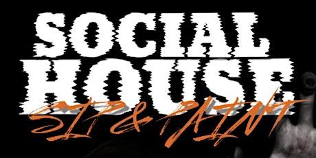 "Social House ""Halloween Sip & Paint"" tickets"