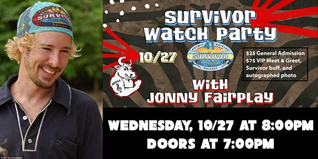 Survivor Watch Party with Jonny Fairplay tickets