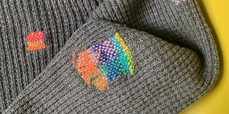 How To Darn - Visible Mending For Knitwear tickets