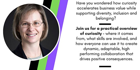 SHE NC Virtual Talk: Leading with Curiosity  by Speaker Christine Schoaff tickets