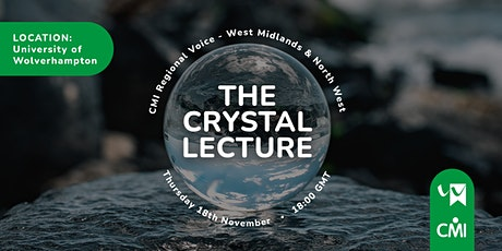 The Crystal Lecture 2021 tickets
