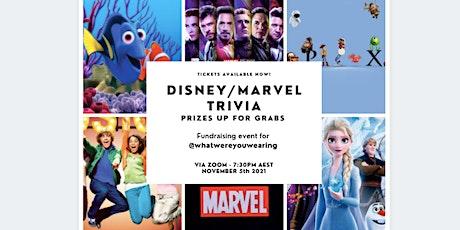 Disney/Marvel Trivia - Fundraising event (Worldwide) tickets