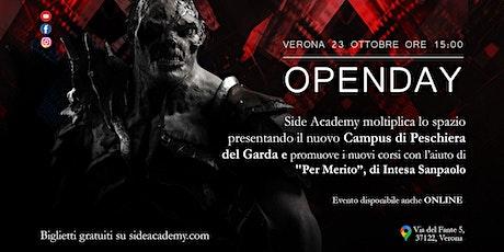 OpenDay Side Academy - 23 Ottobre 2021 biglietti