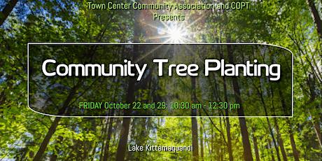 Town Center Community Tree Planting October 22 tickets