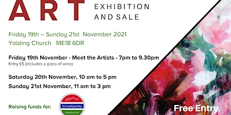 Art Exhibition and Sale - Come and see us! tickets