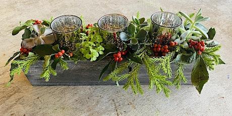 Christmas Succulent Centerpiece Workshop tickets
