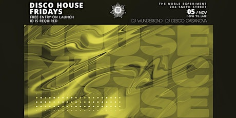 Disco House Fridays - House & Party Anthems tickets